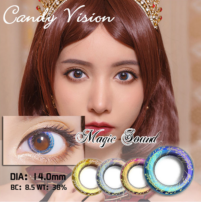 Candy Vision Magic Ring Blue Lens
