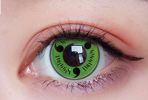 MoMo Sharingan Green Lens