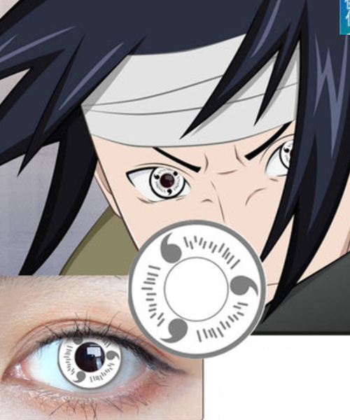 MoMo Sharingan White Lens