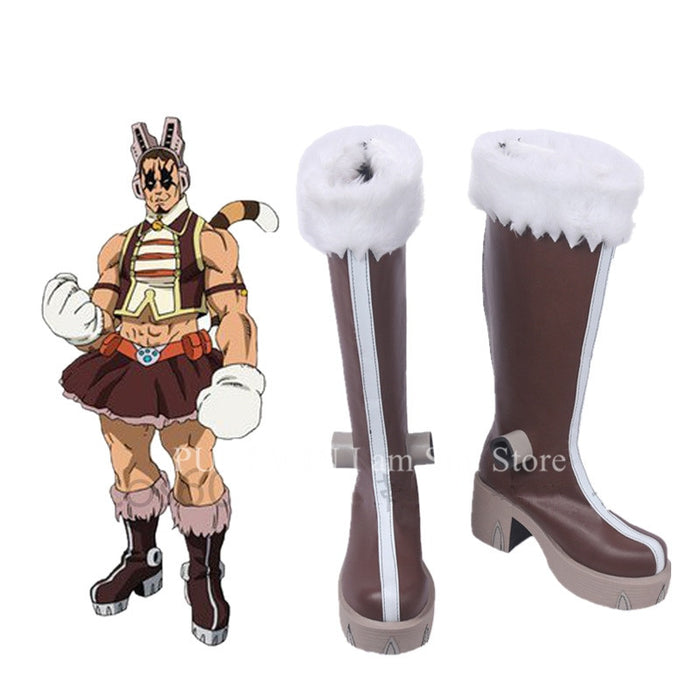 PUSSY CAT Tiger Boku no Hero Academia Pussycats Cosplay Shoes Boots Custom Made
