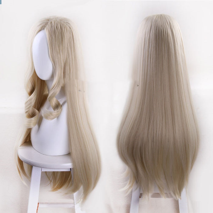My Hero Academia Mt. Lady Blonde Long Wig Synthetic Sexy Hero Hair Cosplay