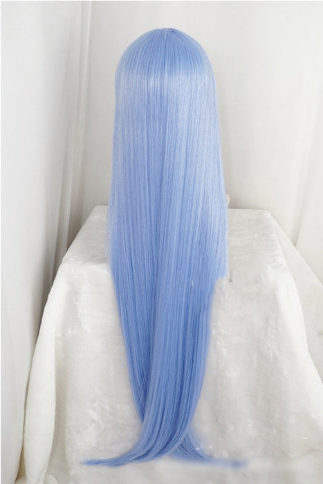 Nejire Hadou My Hero Academia Cosplay Wig Boku No 100cm Long Straight Wig Light Blue