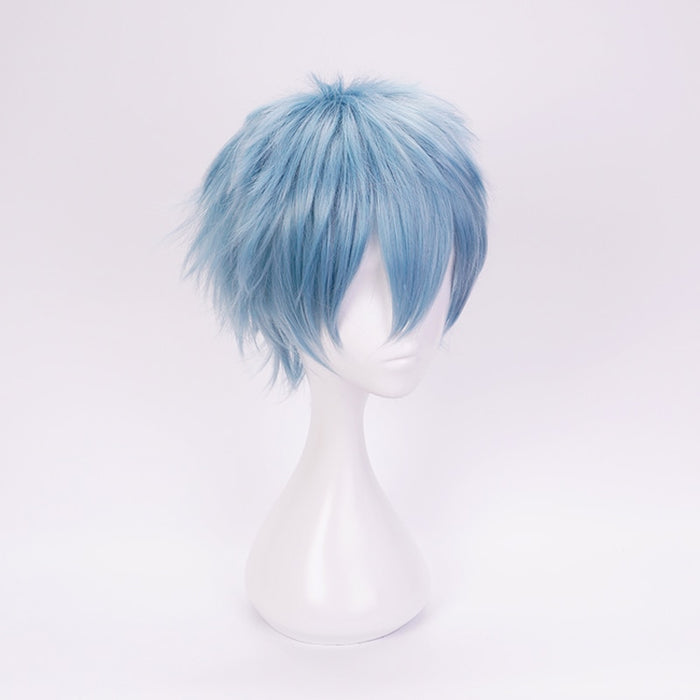 Tomura Shigaraki My Hero Academia Short Wig Blue Cosplay Costume Boku no Heat Resistant Synthetic Hair Men Wigs