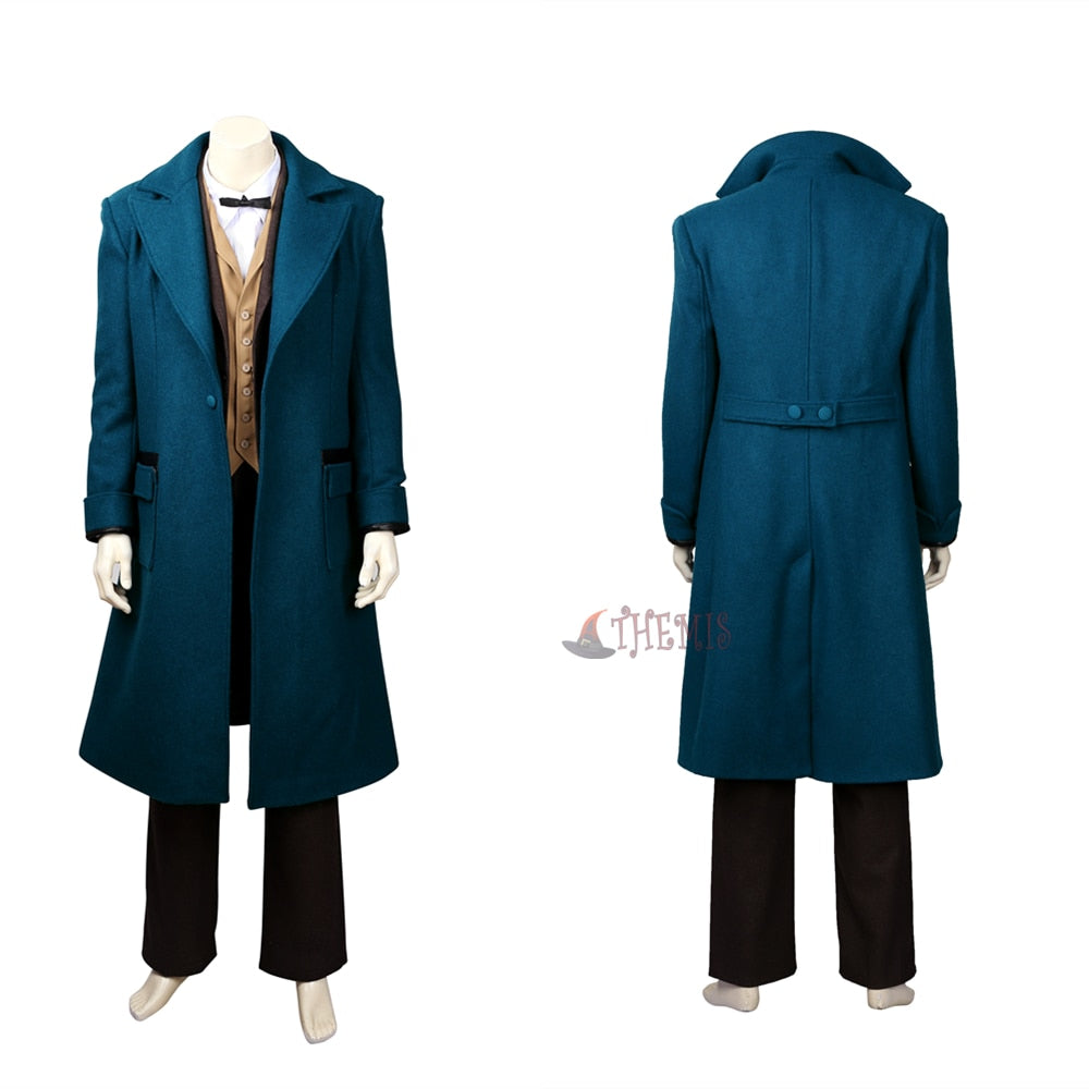 New Fantastic Beasts And Where to Find Them Newt Scamander Cosplay Costumes