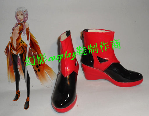 Yuzuriha Inori Guilty Crown Cosplay Shoes