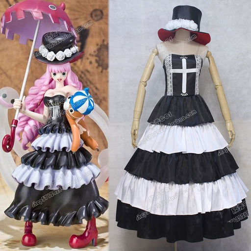 Perona ONE PIECE Cosplay Costume Any Size