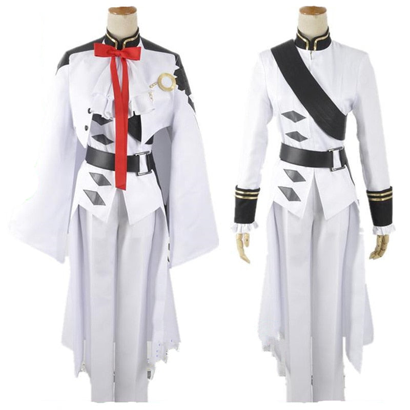 Ferid Bathory Seraph of the End Owari no Seraph Uniform Outfit Cosplay Costumes Full Set