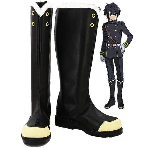 Yuichiro Hyakuya Seraph of the End Owari no Seraph Cosplay Boots Shoes Custom-made