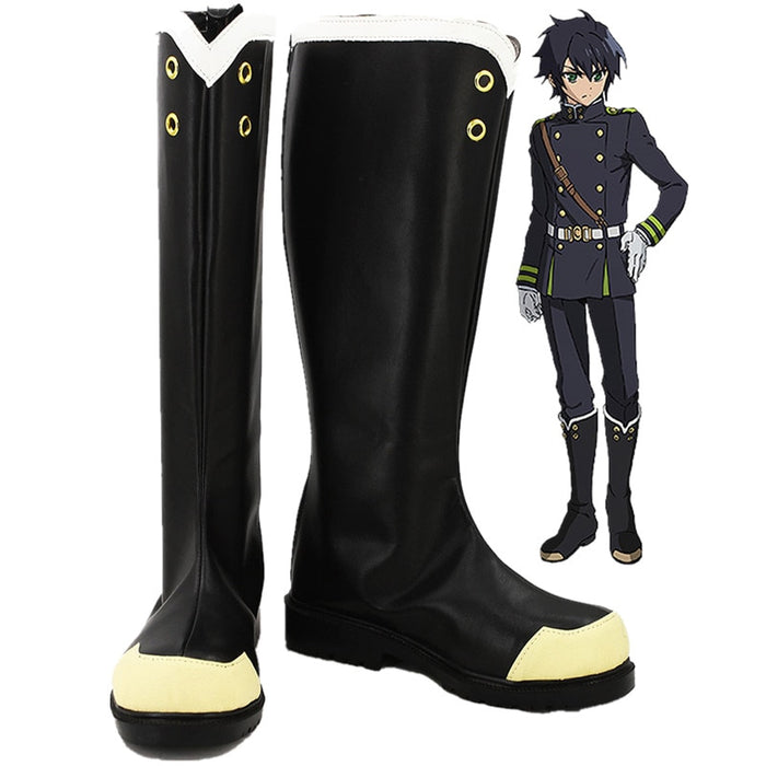 Anime Seraph of the End//Owari no Seraph Cosplay Vampire Reign Krul Tepes Shoes