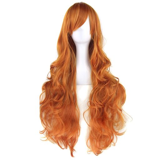 Long Curly Hair Cosplay Wigs Synthetic Hair Accessories Women 20colors