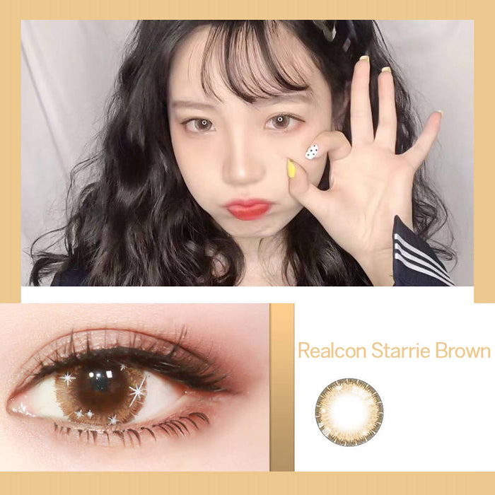 Realcon Starrie Brown Lens