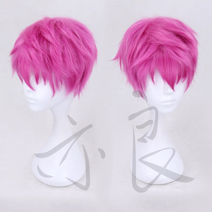 The Disastrous Life of Saiki K. Short Wig Pink Glasses Saiki Kusuo