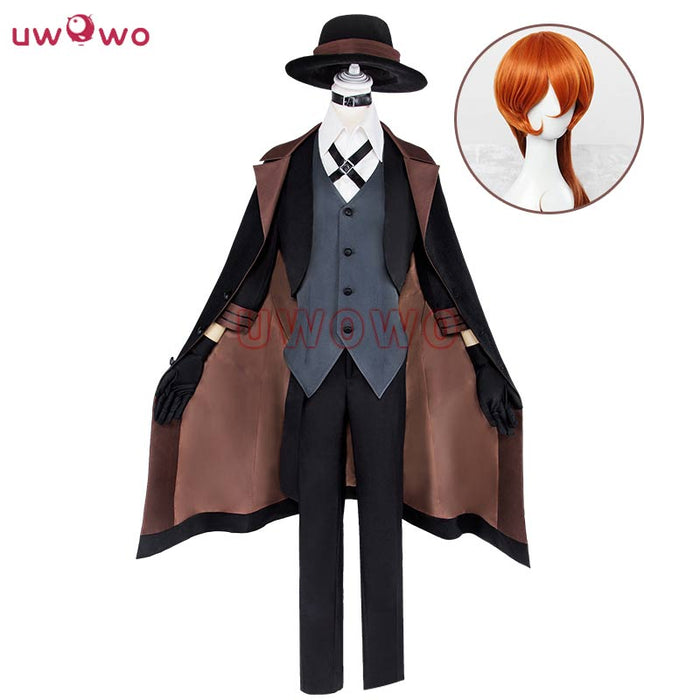 Cosplay Bungou Stray Dogs Costume Port Mafia Anime Cosplay Costume Men Wig