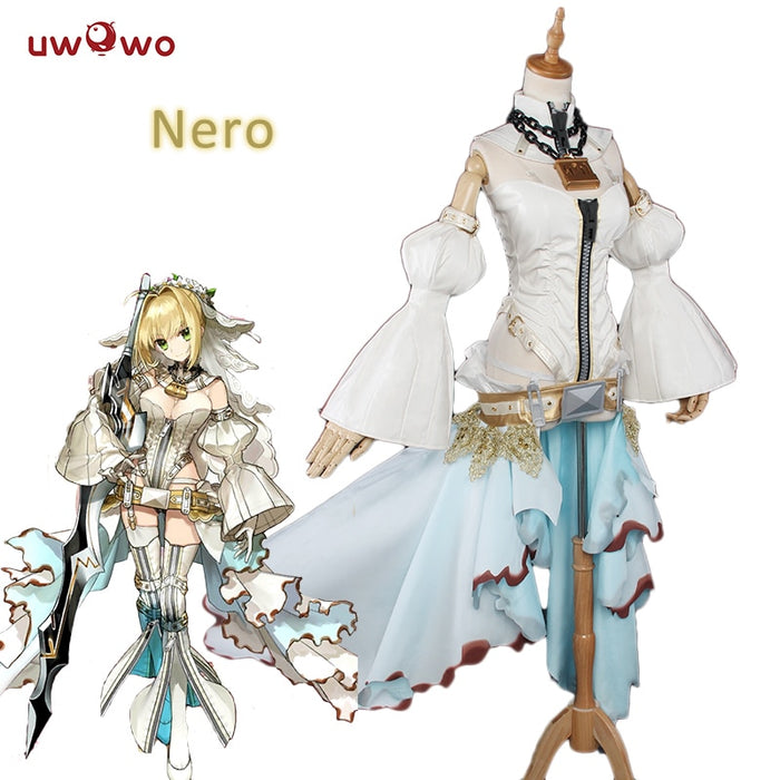 Nero Fate Grand Order Cosplay Claudius Caesar Augustus Germanicus Costume Anime Fate Grand Order Nero Cosplay Women