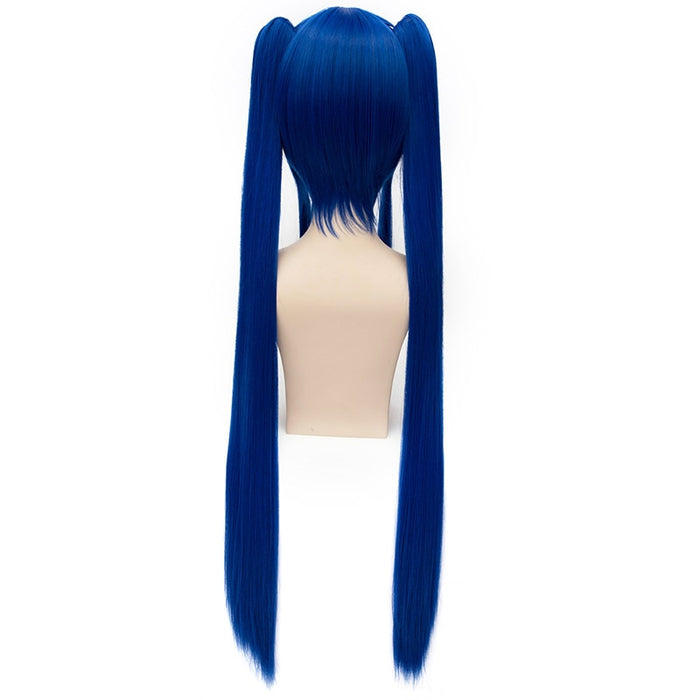 Wendy Marvell Long Straight Wig Blue Fairy Tail