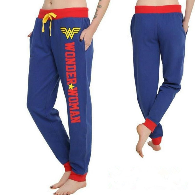 Wonder Woman Princess Dian Cosplay Joggers