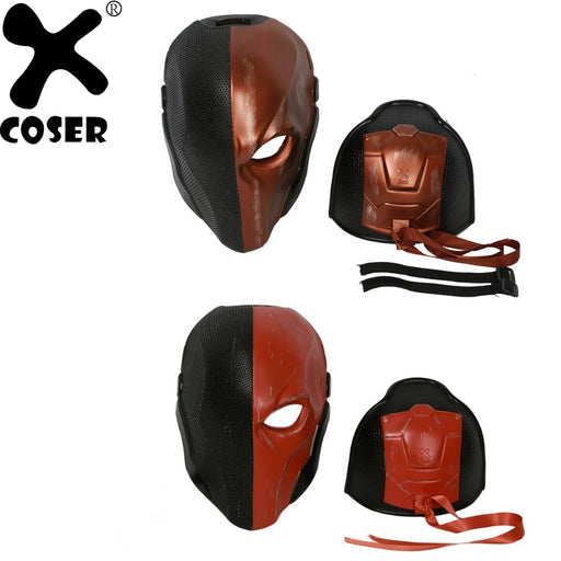 Hot Game Updated Deathstroke Helmet Batman Arkham Knight Cosplay Full Head Mask for Man