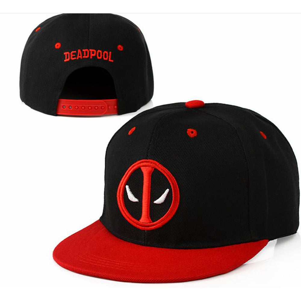 Deadpool Derivative Embroidered Pattern Hat Christmas Gift Cosplay Accessory For Unisex