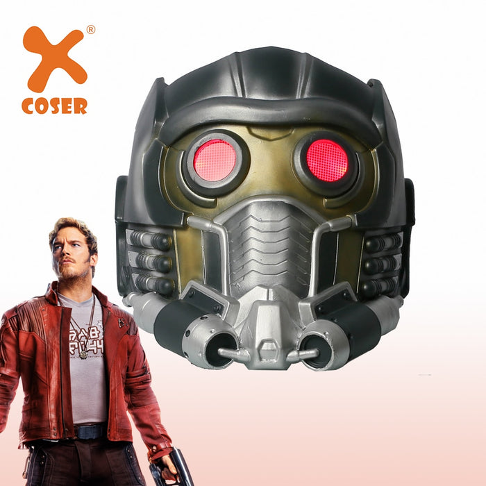 Star Lord Mask Movie Guardians of the Galaxy Cosplay Masks Men Cool Helmet With Glow Glasses