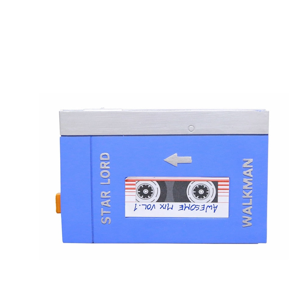 Star Lord Walkman Guardians of The Galaxy Starlord Cosplay Props Halloween Costume For Men