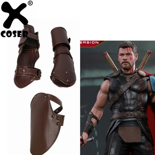 Thor 3 Ragnarok Odinson Wrist Armor Costume Accessories Movie Cosplay Props Set Bracers And Scapular High Quality