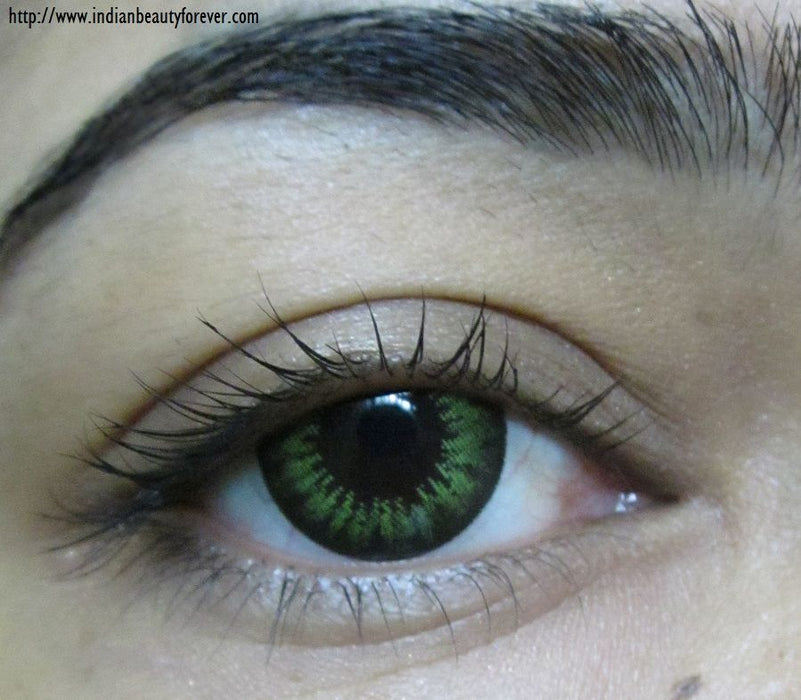 ColourVue Big Eyes Party Green Lens