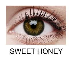 ColourVue Big Eyes Sweet Honey Lens