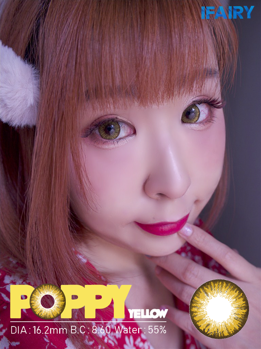 i.Fairy Poppy Yellow Lens