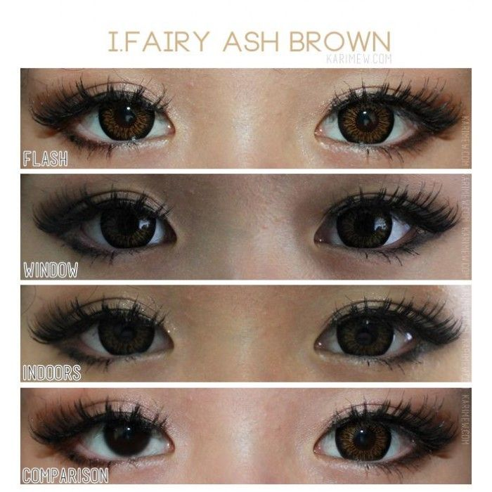 i.Fairy Ash Brown Lens