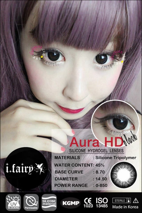 i.Fairy Aura HD Black Lens
