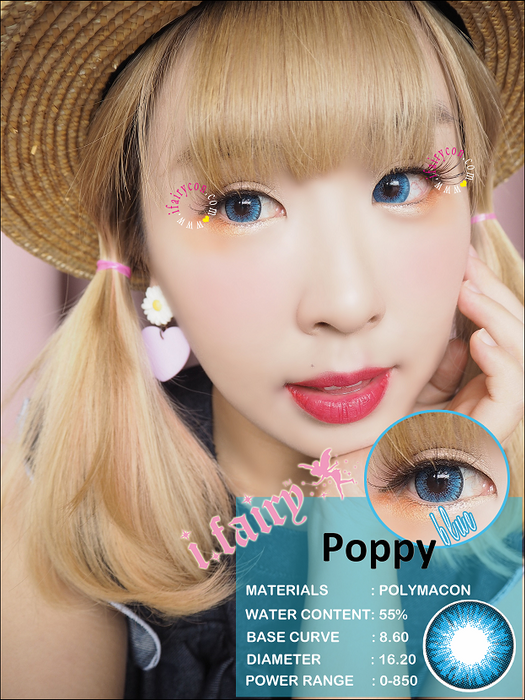 i.Fairy Poppy Blue Lens