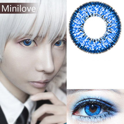 Minilove Nudy Blue Contact Lenses