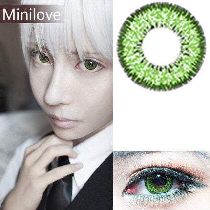 Minilove Nudy Green Contact Lenses