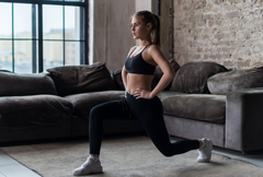 excercises to do from home - lunges