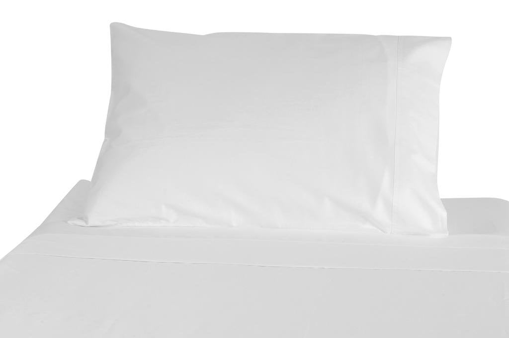 American Pillowcase Cal King Size Fitted Sheet Only - 100% Brushed Microfiber - Medium Pocket - Pieces Sold Separately for Set Guarantee (White)