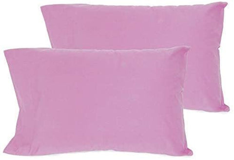 Wholesale box of 60 Pillowcases (Lilac). 100% Cotton, High Thread Count Pillow Cases, Single Needle Hem Stitch, King 21x40 (fits 20x36 Pillow)