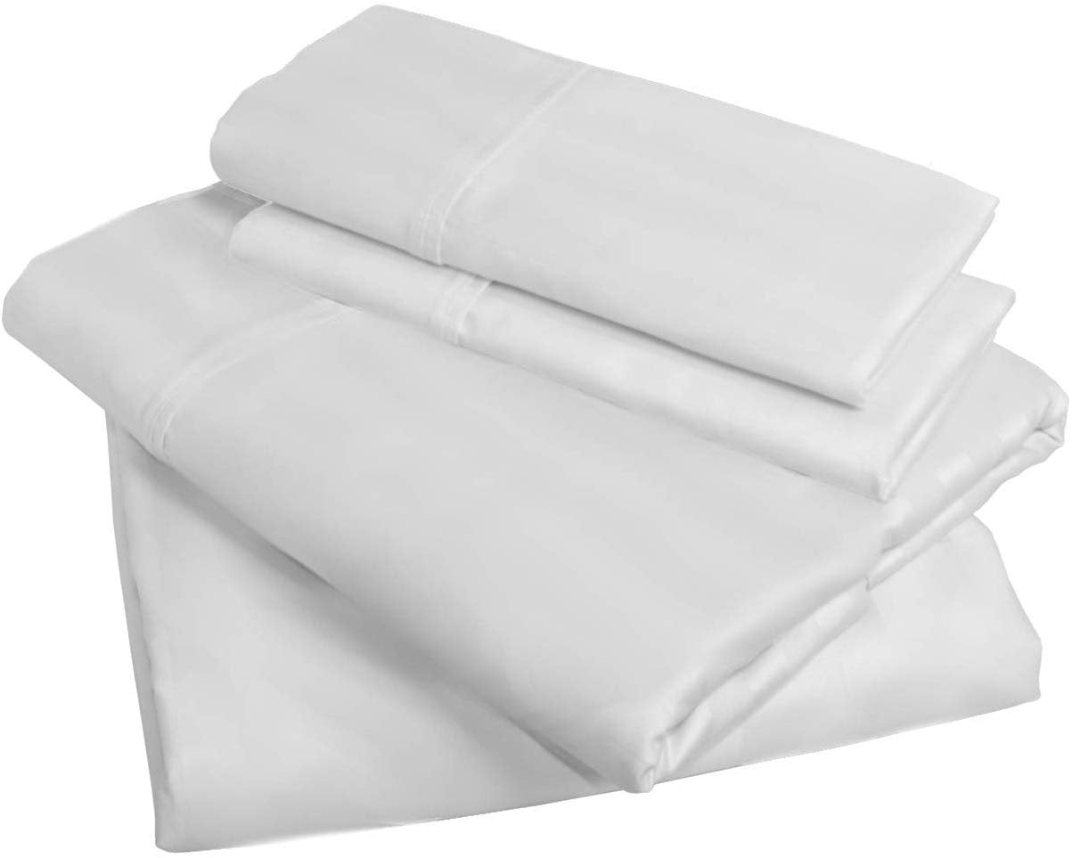 American Pillowcase Fitted Sheet Only - 100% Brushed Microfiber - Deep Pocket - Pieces Sold Separately for Set Guarantee (Twin XL - Deep Pocket, Ivory)