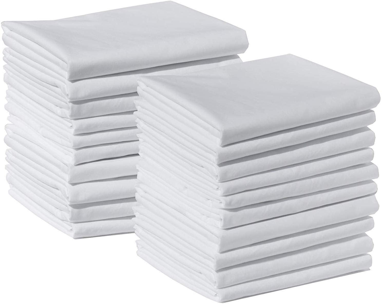 Wholesale Box of 140 Standard Size Microfiber Pillowcases