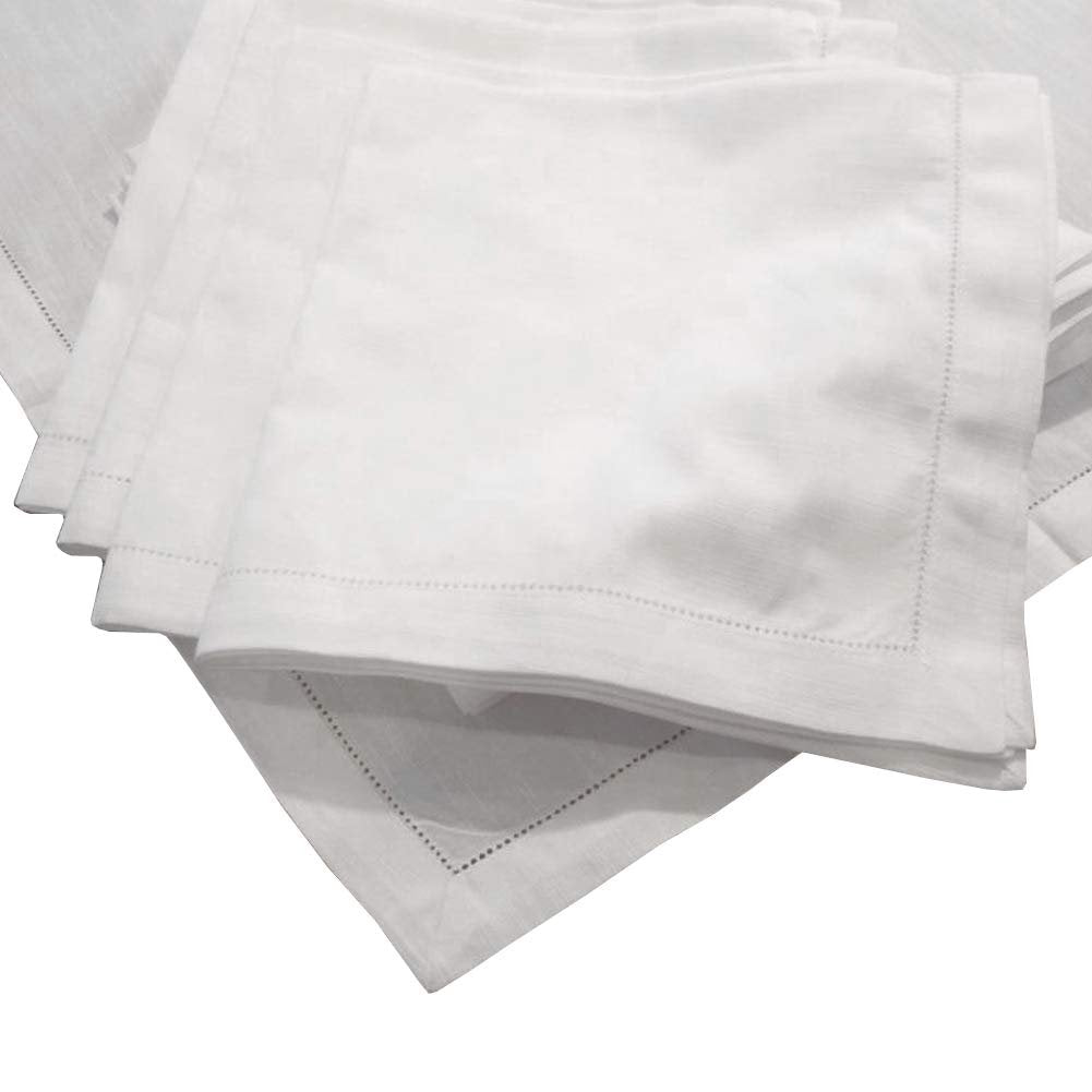 American Pillowcase Egyptian Cotton Hemstitch Dinner Napkins,