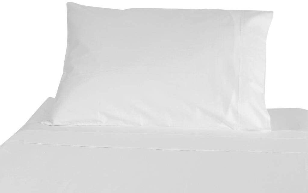 "Wholesale box of 120 Pillowcases. Standard Size 4"" Hems, 300 Thread Count 100% Long Staple Egyptian Cotton"