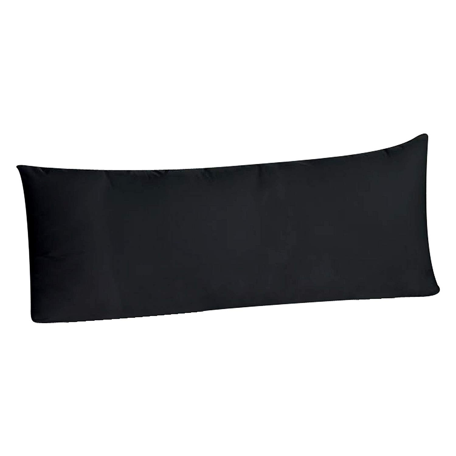 Body Pillowcase Pillow Cover 20 x 54, 100% Brushed Microfiber, Body Pillow Cover, (Envelope Closure, Midnight Blue)