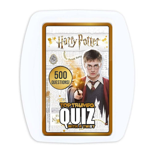 Harry Potter Top Trumps Quiz Game