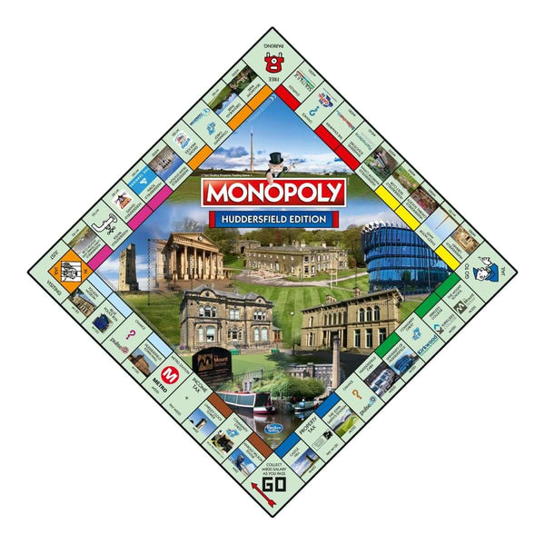 Huddersfield Monopoly - Winning Moves UK