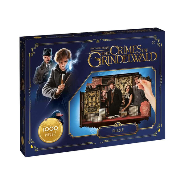 Fantastic Beasts 1000 Piece Jigsaw Puzzle - Winning Moves UK