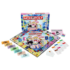 Sailor Moon Monopoly Board Game - Winning Moves UK