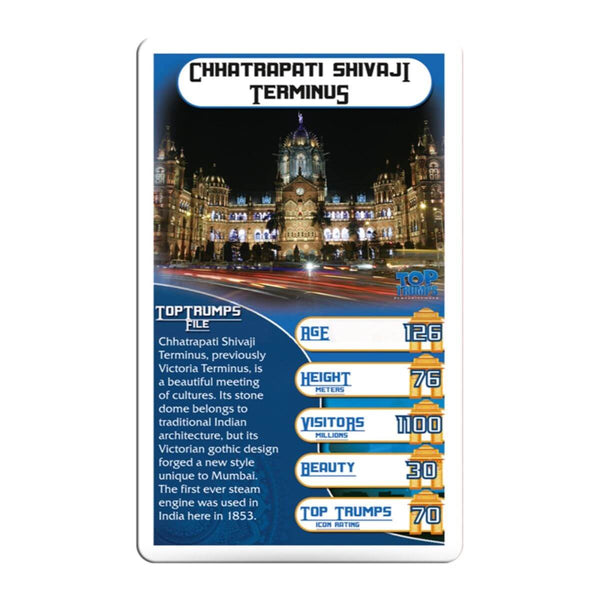 Monuments of India Top Trumps