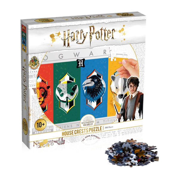 Harry Potter House Crests 500 Piece Jigsaw Puzzle