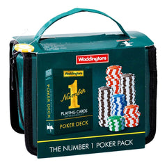 Waddingtons Number 1 Travel Poker Set