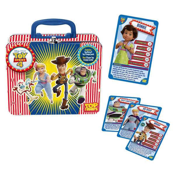 Toy Story 4 Top Trumps Collectors Tin