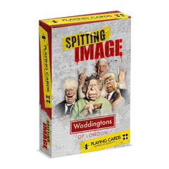 Spitting Image Waddingtons No.1 Playing Cards